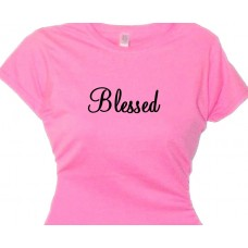 Blessed  - Mom Tee Shirt - Mom Love T-Shirt